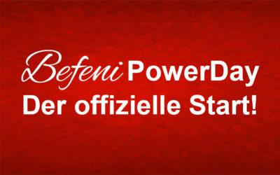 Befeni Powerday am 08.April 2017 – Sei auch Du dabei!