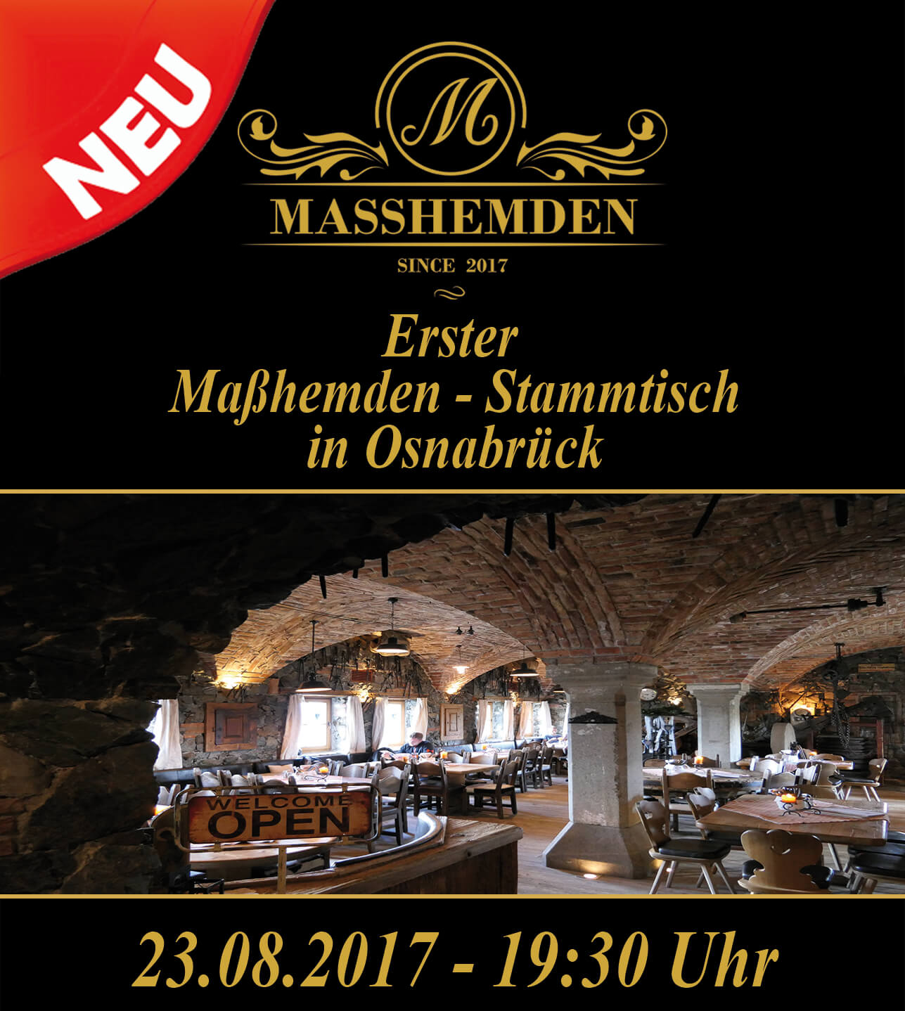 Erster Befeni Maßhemden Stammtisch Osnabrück