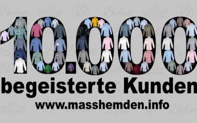 Befenis 10.000ster Kunde wurde im Okt. 2018 gewonnen