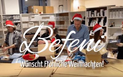 Die Befeni Weihnachtsbäckerei